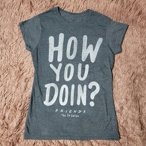 """Friends Joey Quote """"How You Doin?"""" T-shirt"""